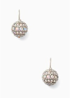 Kate Spade bright spark stone bauble drop earrings