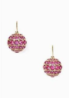 Kate Spade bright spark stone bauble drop earrings