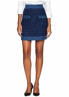 Kate Spade Broome Street Denim Tweed Skirt