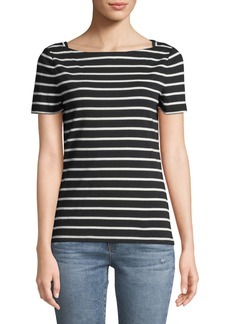 Kate Spade Broome Street Short-Sleeve Striped Tee