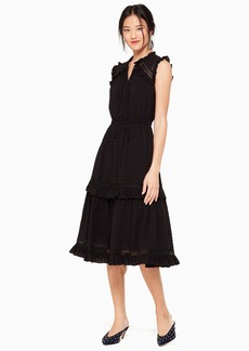 Kate Spade broome street swiss dot sleeveless dress