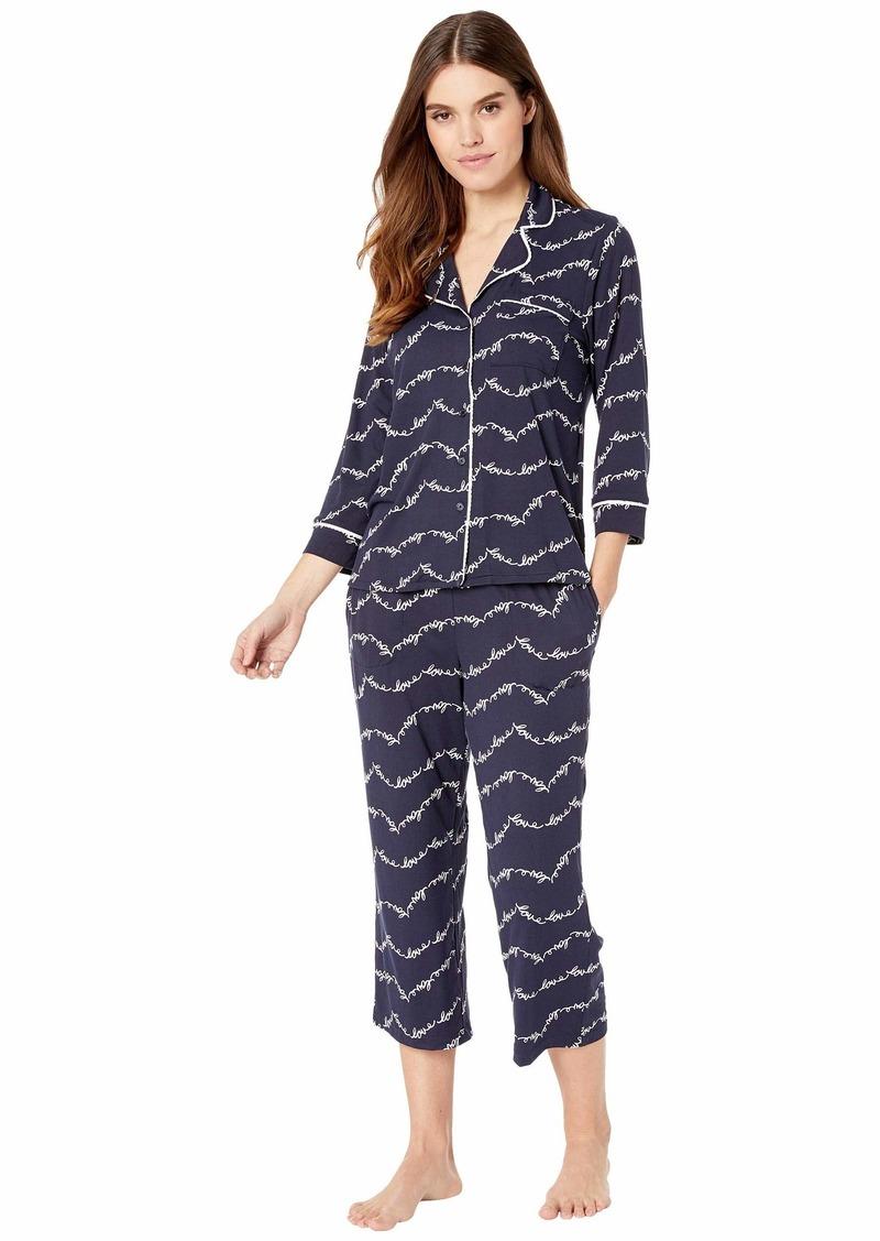 Kate Spade Brushed Jersey Pajama Set