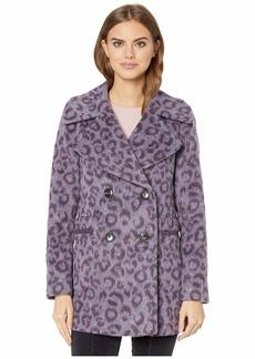 Kate Spade Brushed Leopard Coat