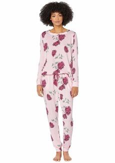 Kate Spade Brushed Sweater Knit Pajama Set