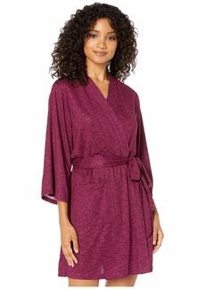 Kate Spade Brushed Sweater Knit Robe