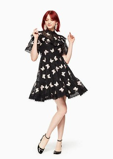 Kate Spade butterfly embroidered dress