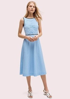 Kate Spade button back stripe dress