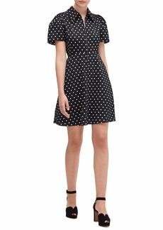 Kate Spade Cabana Dot Smocked Dress
