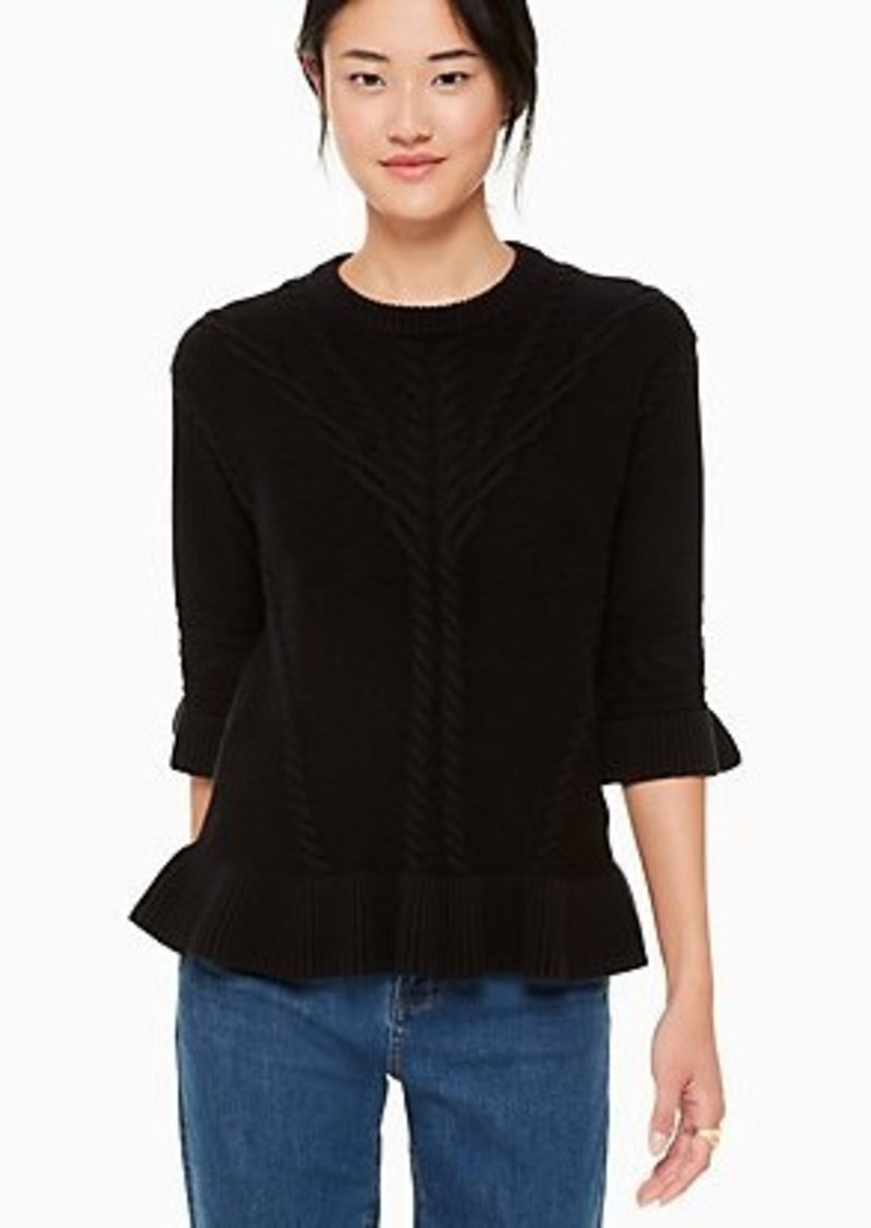 Kate Spade cable sweater