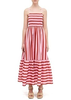 Kate Spade Calais Stripe Smocked Dress