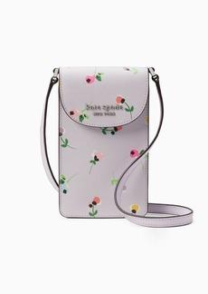 Kate Spade cameron floral ditsy north south flap phone crossbody
