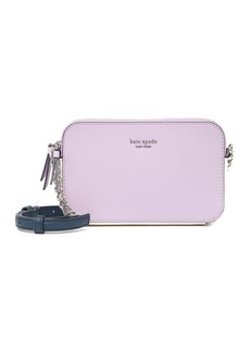 Kate Spade leather camron double zip small crossbody bag
