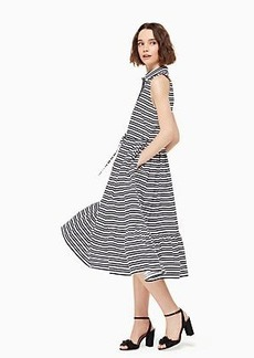 Kate Spade candy stripe shirtdress