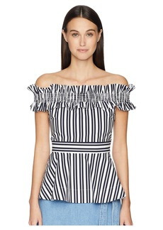 Kate Spade Candy Stripe Top