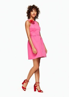 carnation fit and flare dress