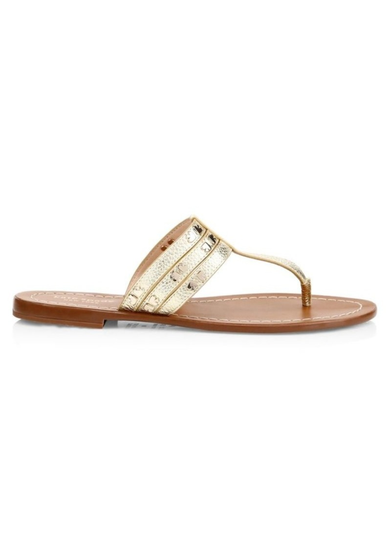 Kate Spade Carol Spades Studded Leather Sandals