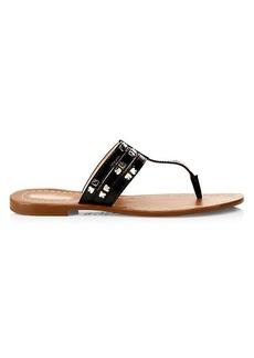 Kate Spade Carol Spades Studded Leather Sandals