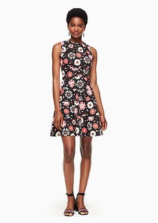 casa flora poplin dress