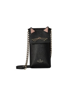 Kate Spade Cat North/South Crossbody Phone Case