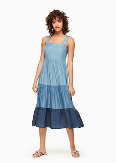 Kate Spade chambray patio dress