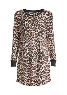Kate Spade Cheetah Print Sleep Shirt