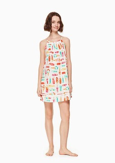 Kate Spade cotton blend chemise