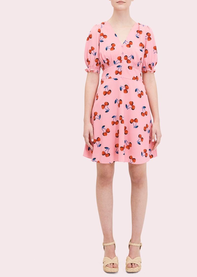 Kate Spade cherry toss dress