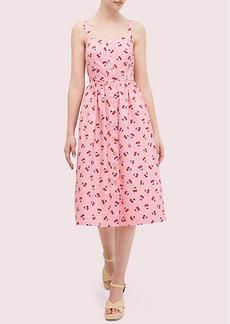 Kate Spade Cherry Toss Poplin Dress