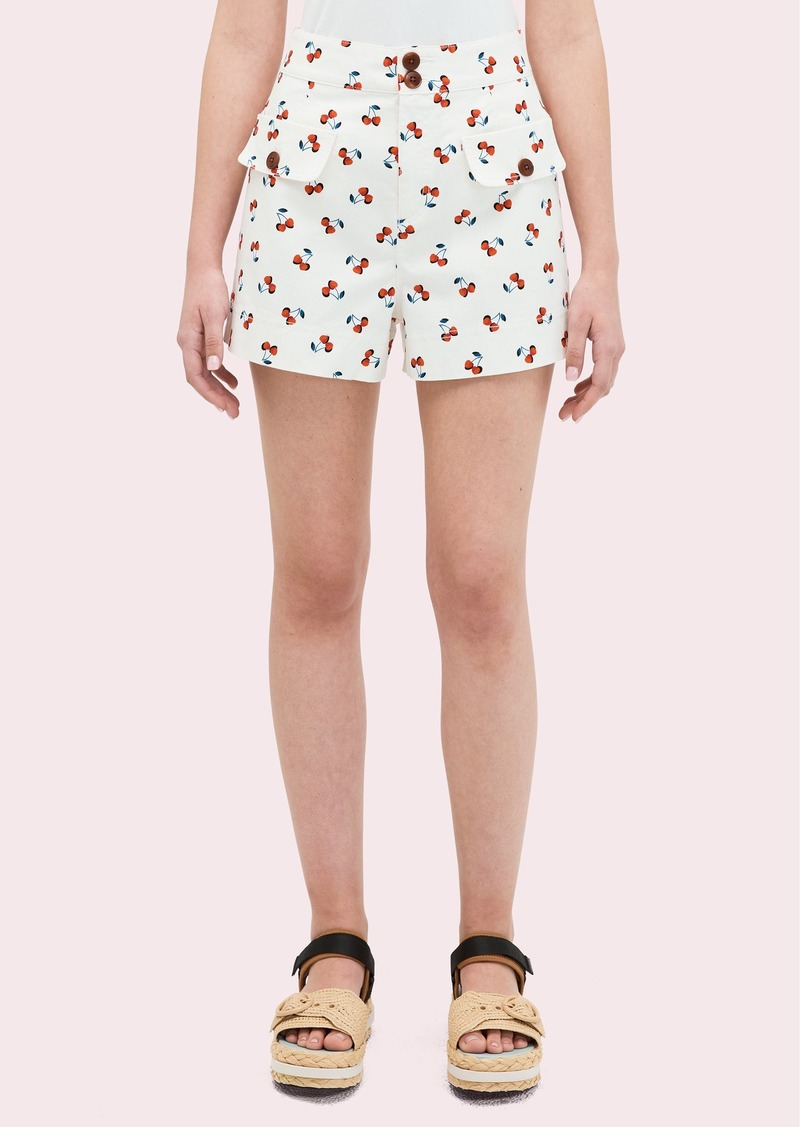 Kate Spade cherry toss short