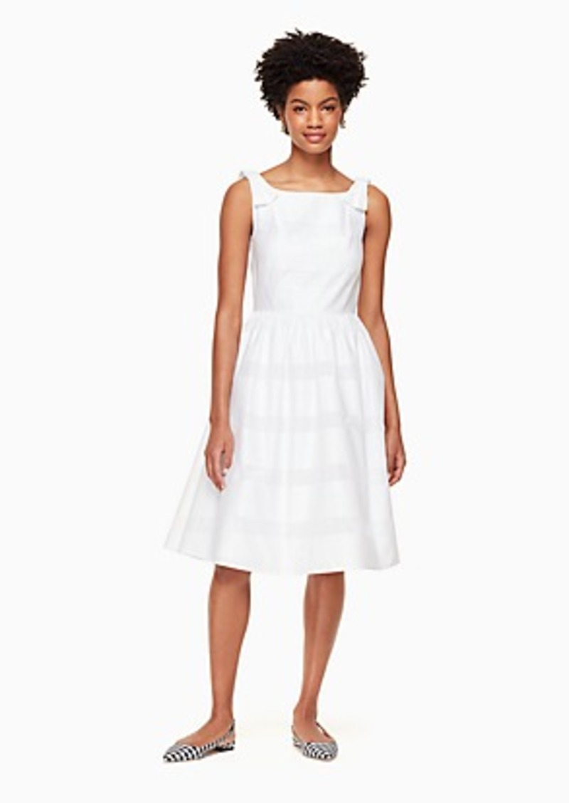Kate Spade chesapeake stripe midi dress