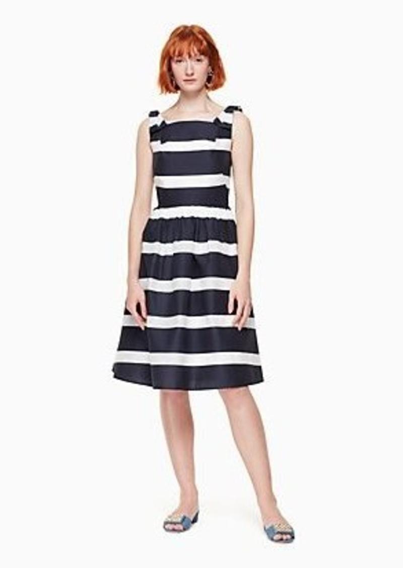 Kate Spade chesapeake stripe midi dress