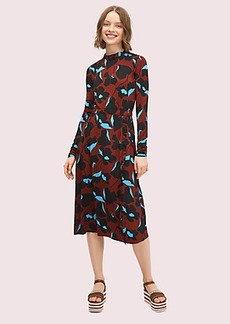 Kate Spade city blooms knit dress