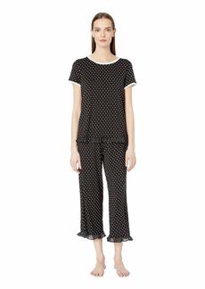 Kate Spade Classic Dot Cropped Pajama Set