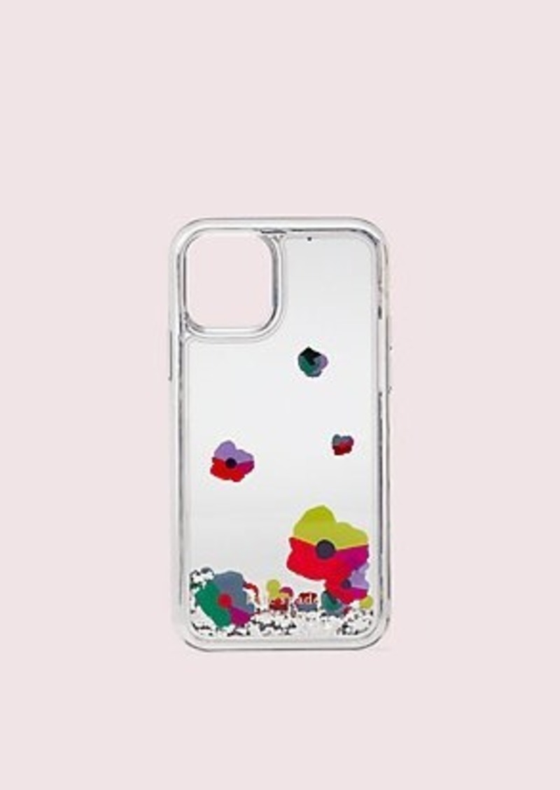 Kate Spade collage liquid glitter iphone 11 pro case