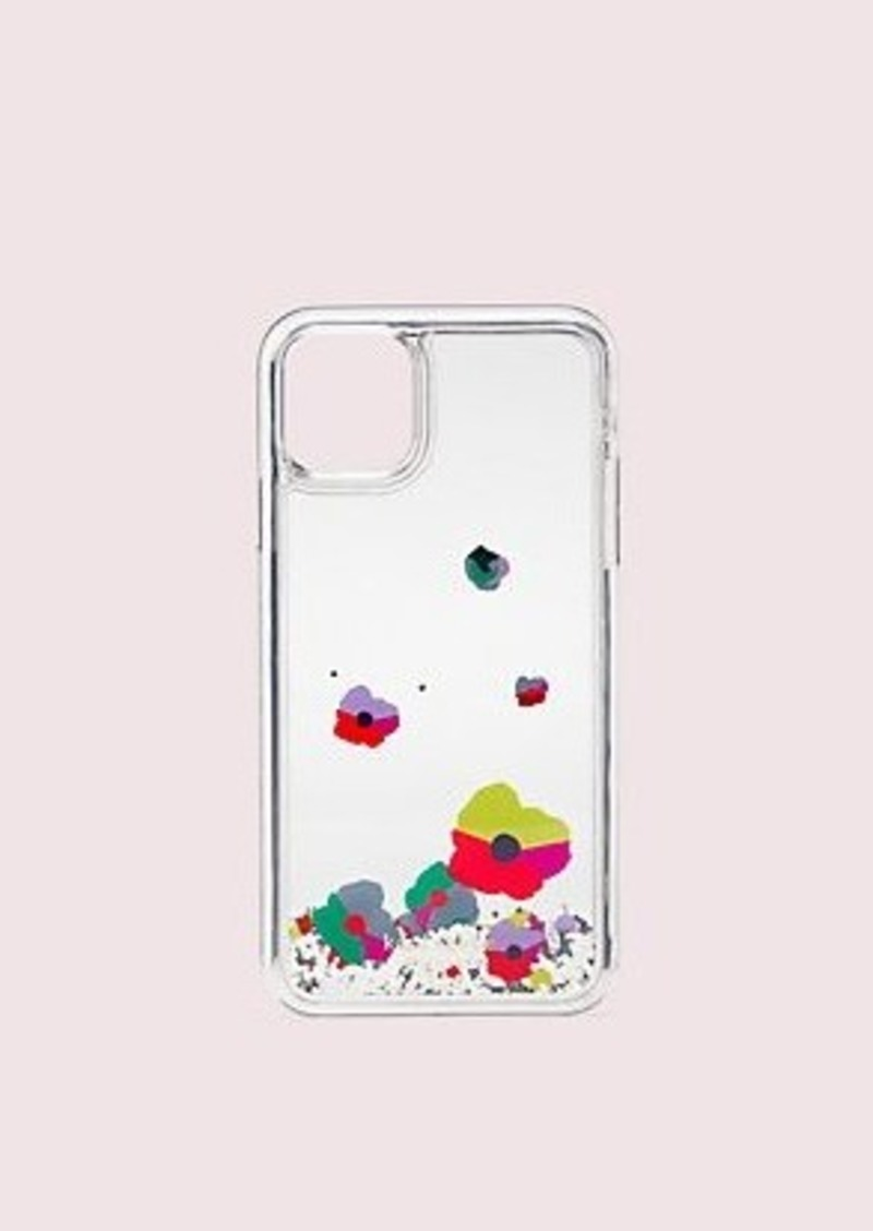 Kate Spade collage liquid glitter iphone 11 pro max case