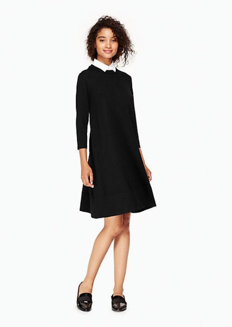 270da3db86e7 Kate Spade collared sweater dress