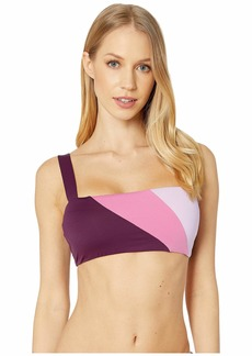Kate Spade Color Blocking Reversible Bikini Top
