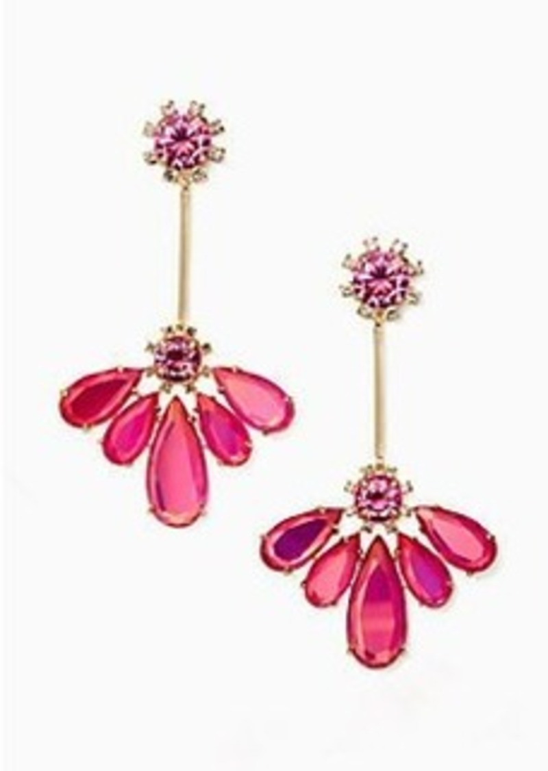 Kate Spade color crush drop earrings