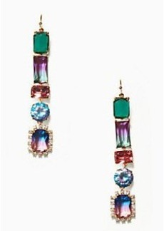 Kate Spade color crush linear earrings