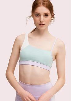 Kate Spade color spliced sports bra