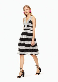 Kate Spade colorblock lace dress