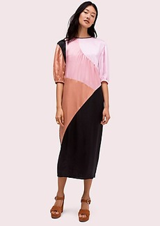 Kate Spade colorblock midi dress