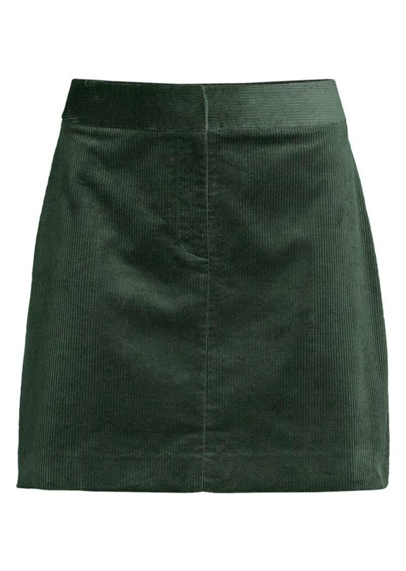 Kate Spade Corduroy Mini Skirt