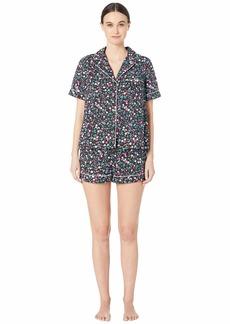 Kate Spade Cotton Lawn Short Pajama Set