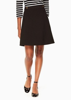 Kate Spade crepe military skirt