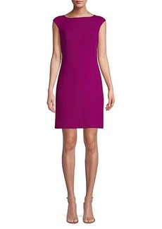 Kate Spade Crepe Wool-Blend Sheath Dress