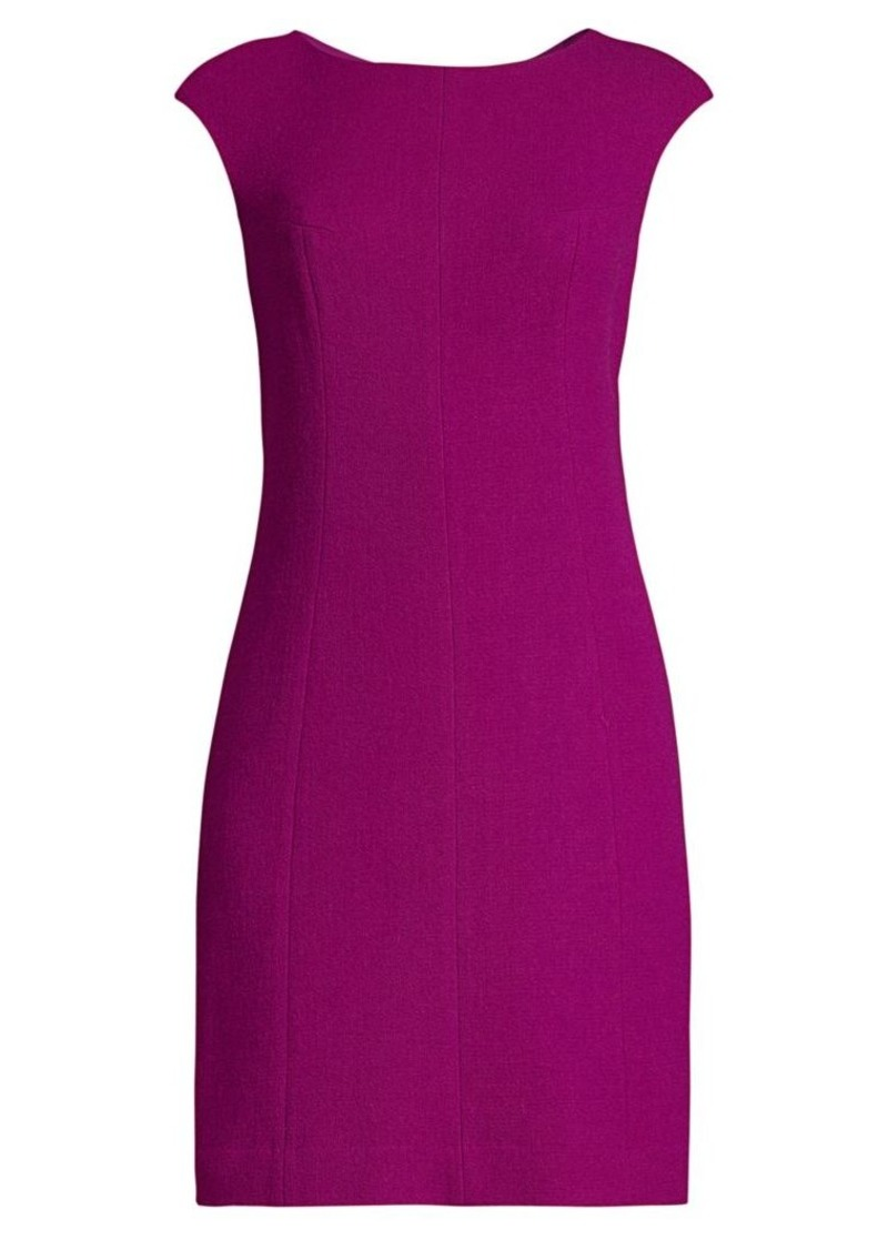 Kate Spade Crepe Wool-Blend Sheath Dress