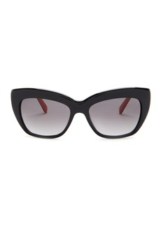 Kate Spade crims 50mm cat eye sunglasses