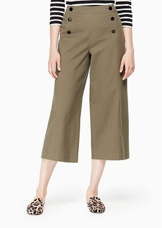 Kate Spade cropped military pant