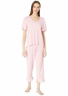 Kate Spade Cropped Pajama Set